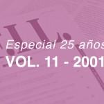 Revistas del 2001 – Volumen 11