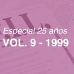 Revistas del 1999 – Volumen 9